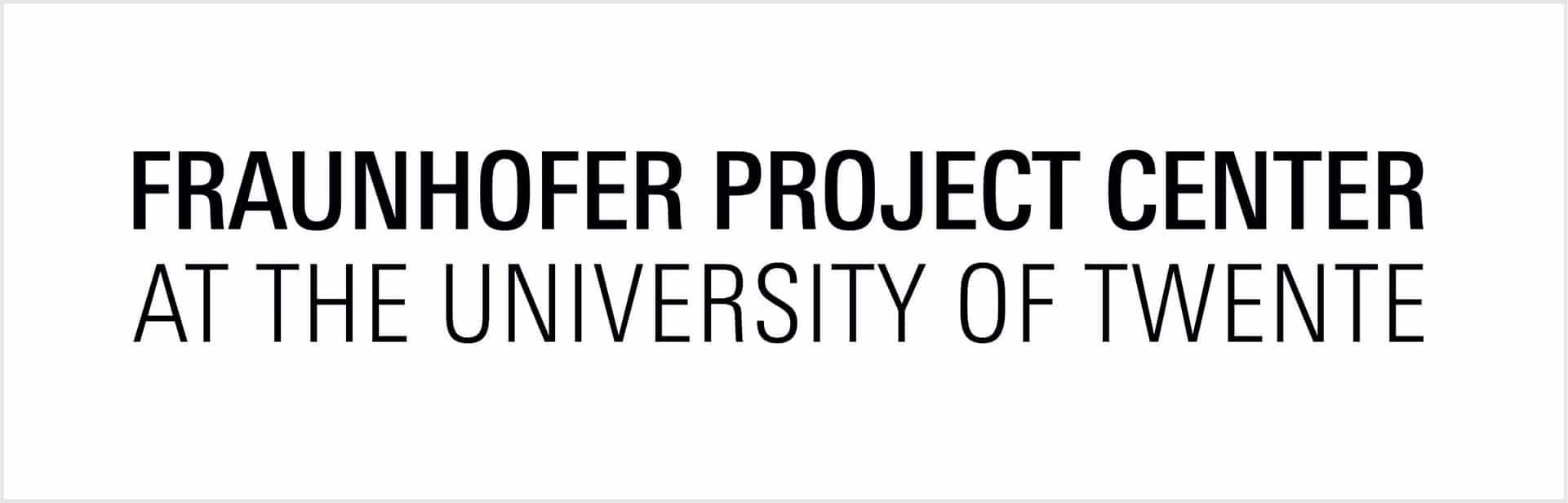 Logo in vlak Fraunhofer University Twente_web