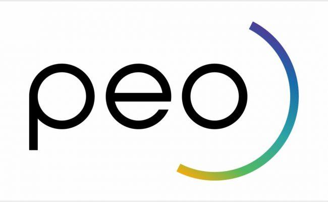 Website logo PEO rechthoek